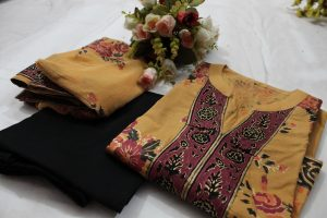 Color brown, cotton material